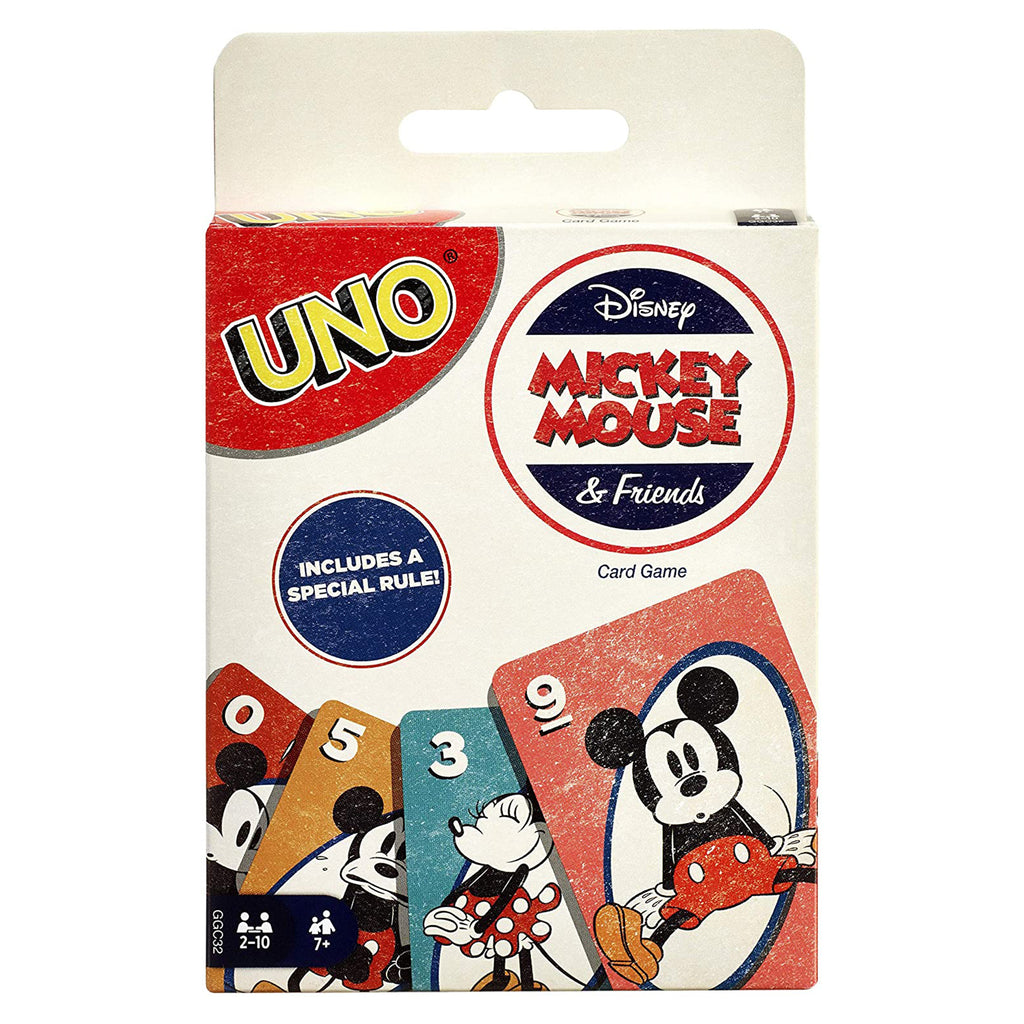 Uno Mickey Mouse And Friends The Card Game