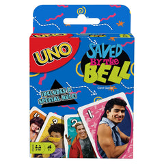 Uno Saved By The Bell The Card Game