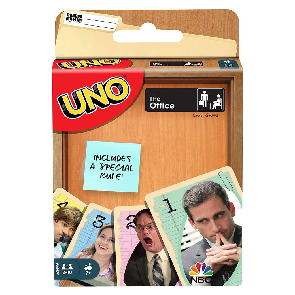 Uno The Office The Card Game