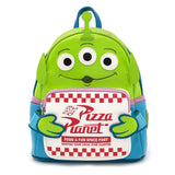 Loungefly Disney Toy Story Alien Pizza Box Mini Backpack