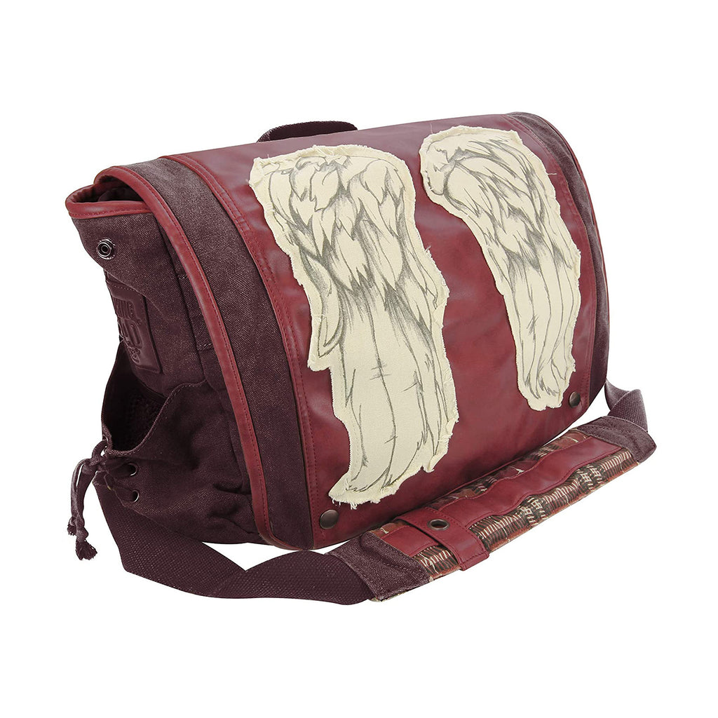 Walking Dead Daryl Dixon Wings Red Messenger Bag