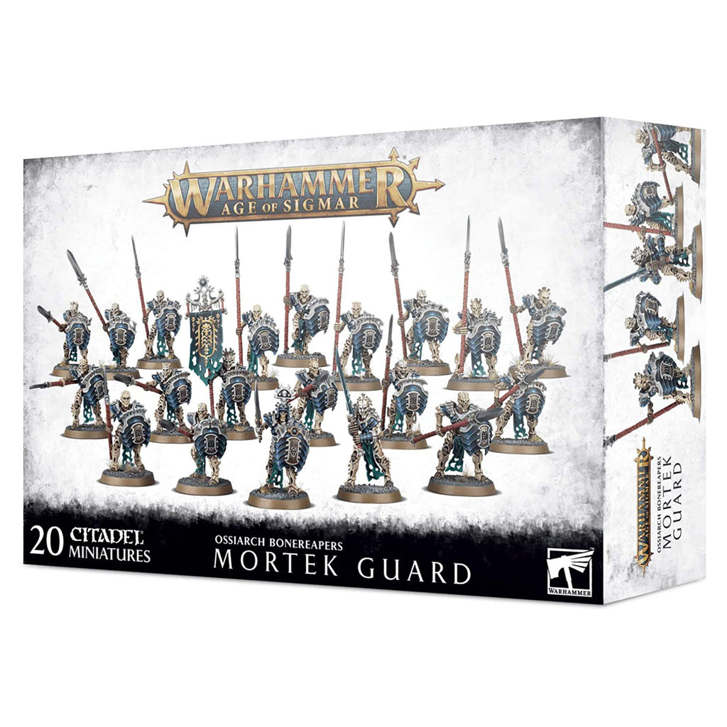 Warhammer Age Of Sigmar Ossiarch Bonereapers Mortek Guard Set