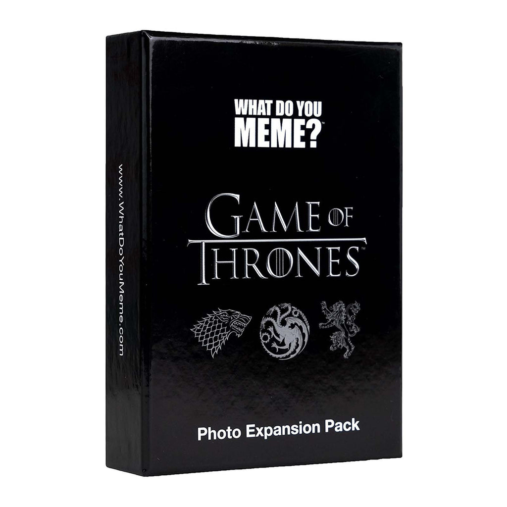 What Do You Meme? Game Of Thrones Expansion Pack The Adult Party Game