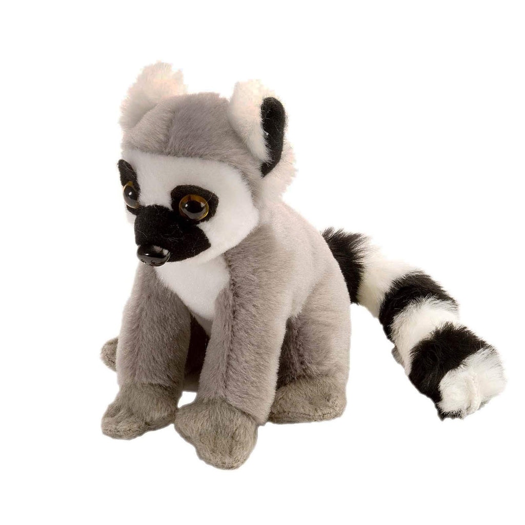 Animal Plush Toys - Wild Republic Cuddlekin Lil's Ring Tailed Lemur 5 Inch Plush