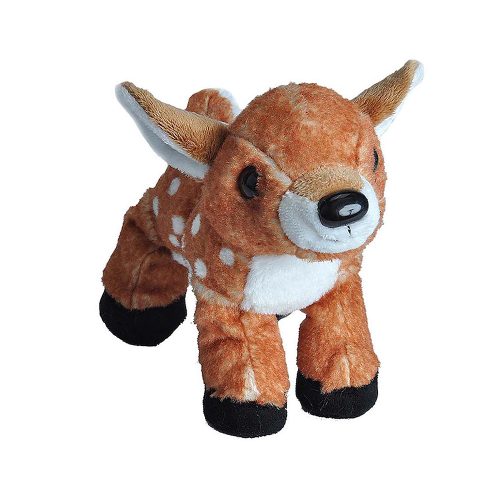 Wild Republic Hug'ems Mini Fawn Animal 7 Inch Plush