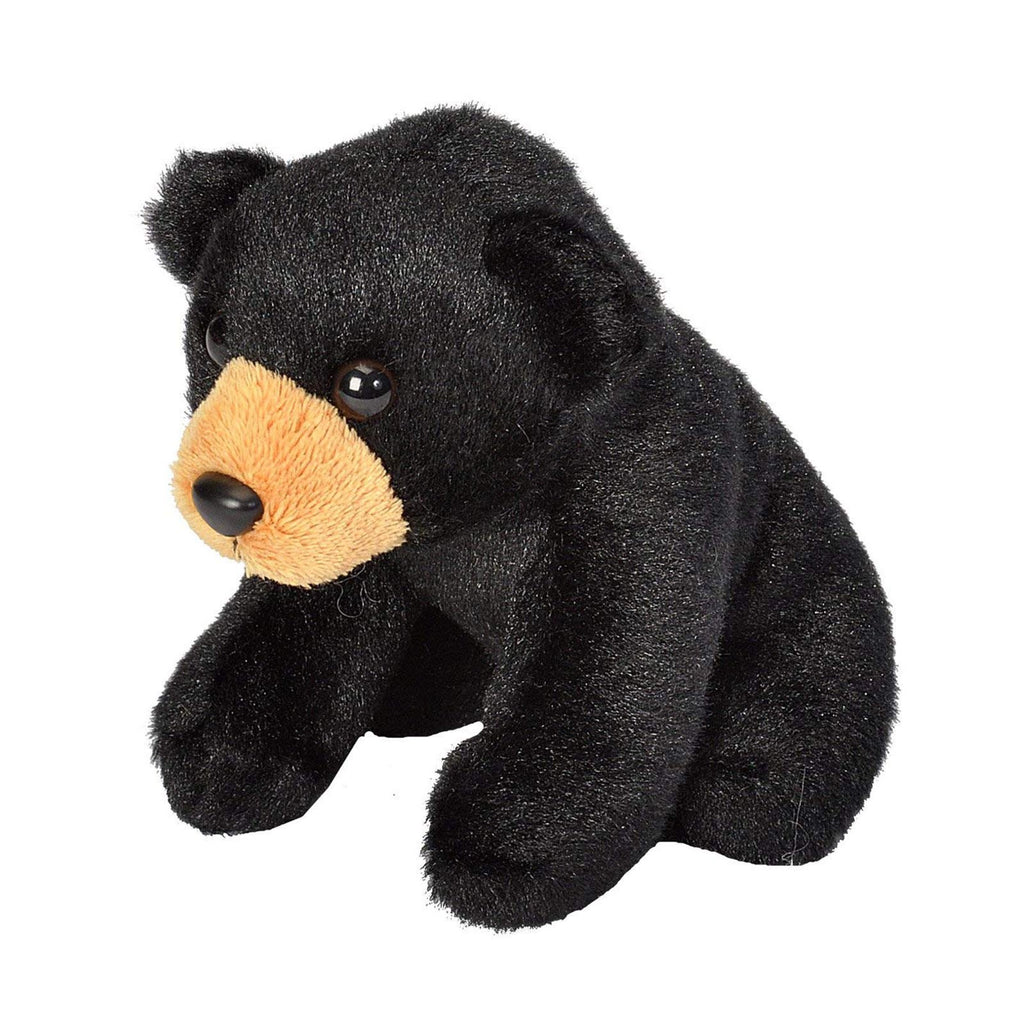 Wild Republic Lil' Cuddlekins Black Bear 5 Inch Plush