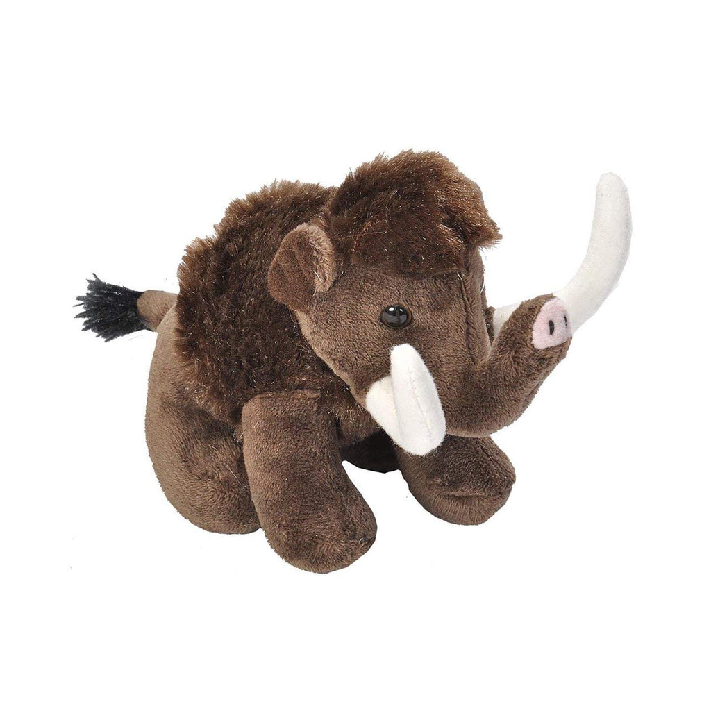 Wild Republic Lil' Cuddlekins Woolly Mammoth 5 Inch Plush