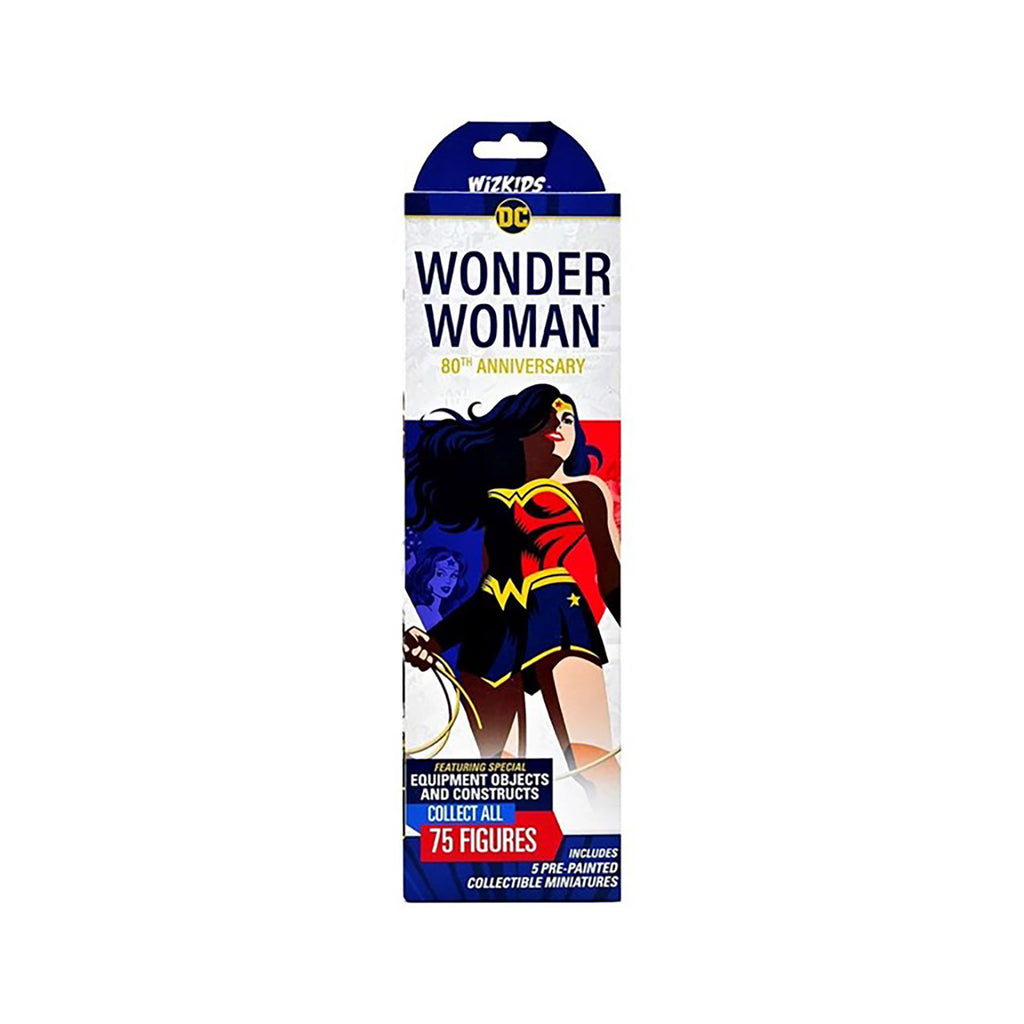 WizKids DC Heroclix Wonder Woman 80th Anniversary Blind Box Painted Miniatures