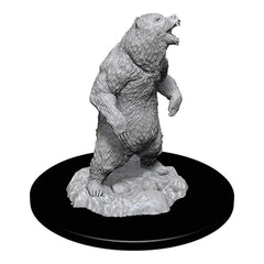 Wizkids Pathfinder Battles Deep Cuts Unpainted Grizzly Figure Set