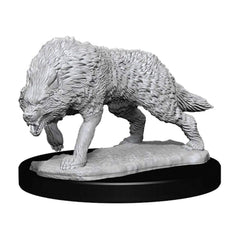 Wizkids Pathfinder Battles Deep Cuts Unpainted Timber Wolves Figure Set