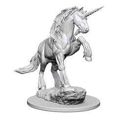 Wizkids Pathfinder Battles Deep Cuts Unpainted Unicorn Figure Set