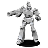 Wizkids Transformers Deep Cuts Unpainted Megatron Figure