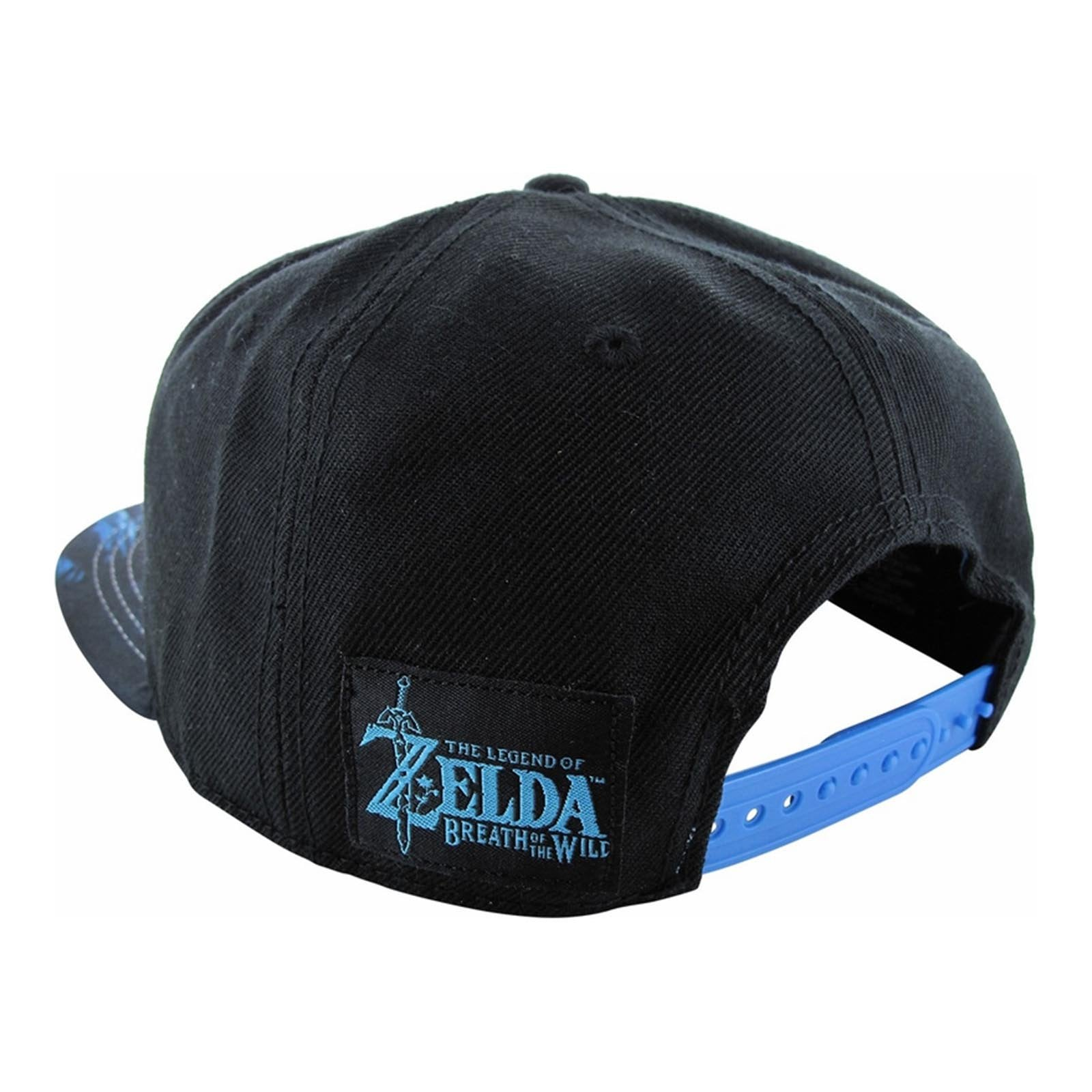 detailed look 4fa15 71eb4 Zelda Breath of The Wild Shield Snapback Hat