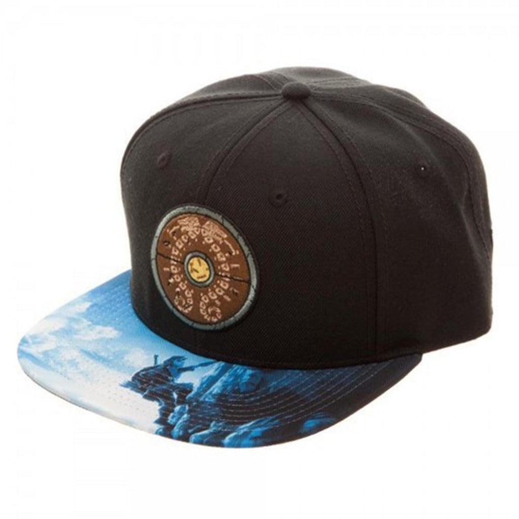 Zelda Breath of The Wild Shield Snapback Hat