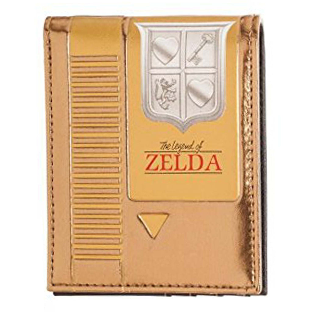 Wallets - Zelda Gold Cartridge Bi-Fold Wallet