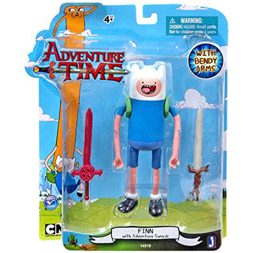 Adventure Time Finn With 2 Swords 5 Inch Action Figure