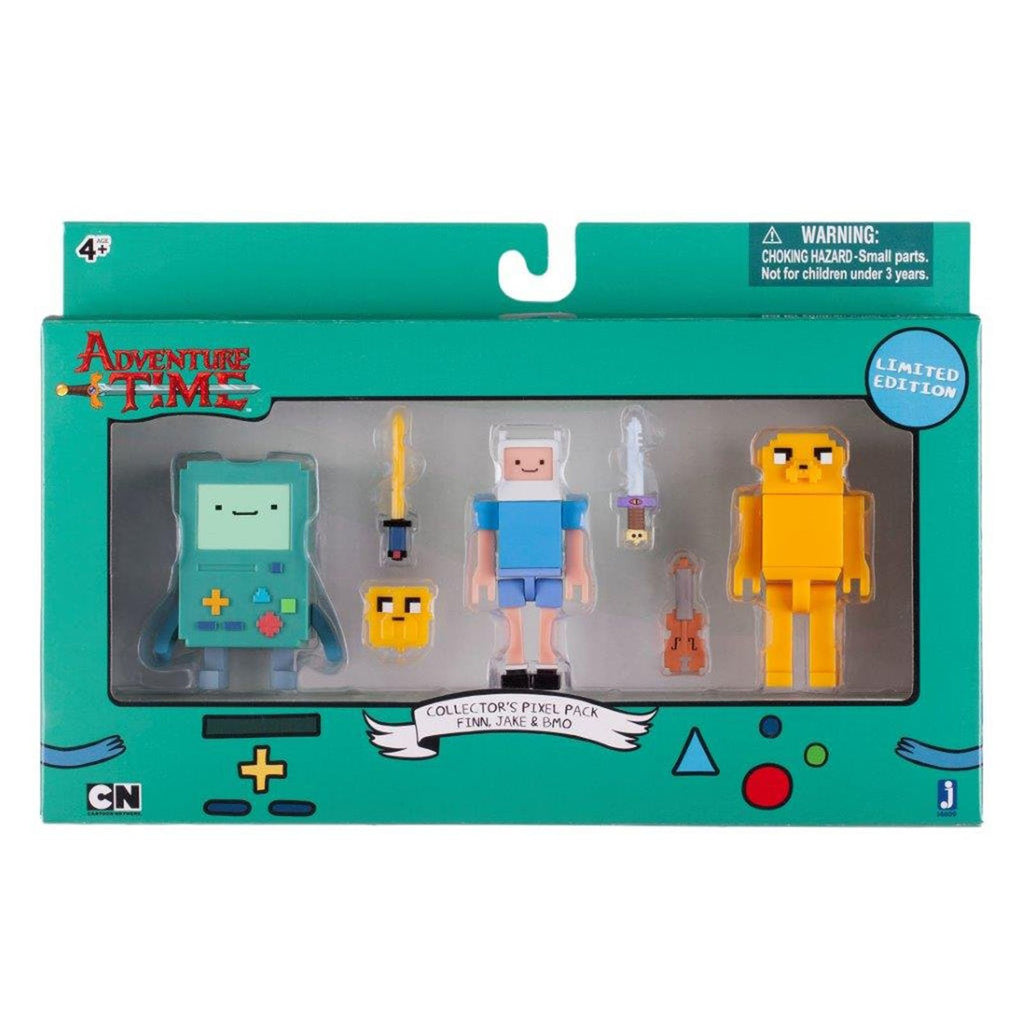 Adventure Time Limited Edition Collectors Pixel Figure Pack