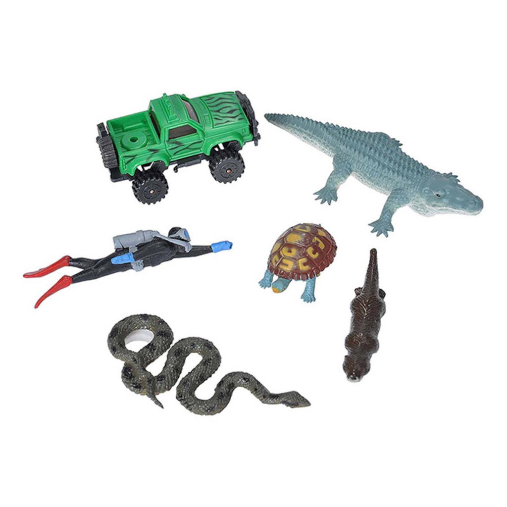 Action Figures - Animal Adventure River Adventure Pack Playset