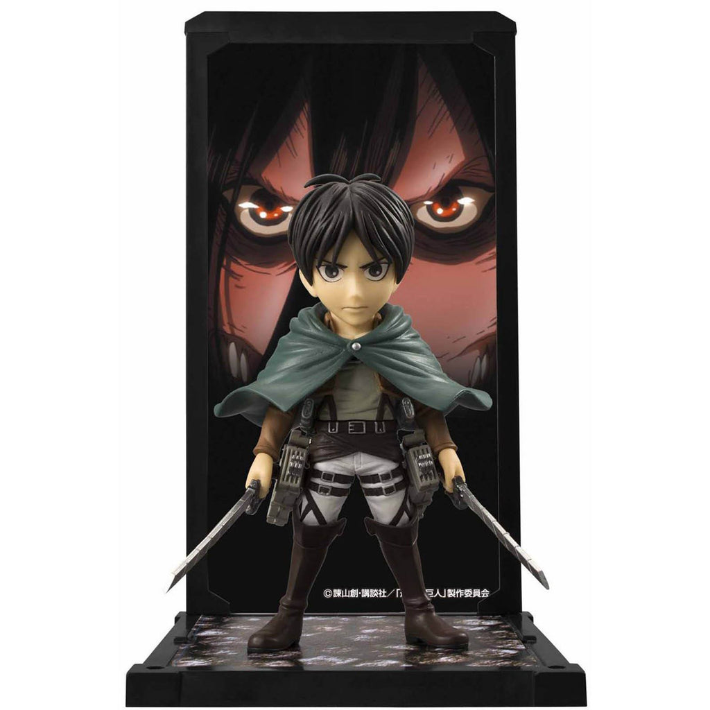 Bandai Attack On Titan Tamashii Buddies Eren Yeager Figure