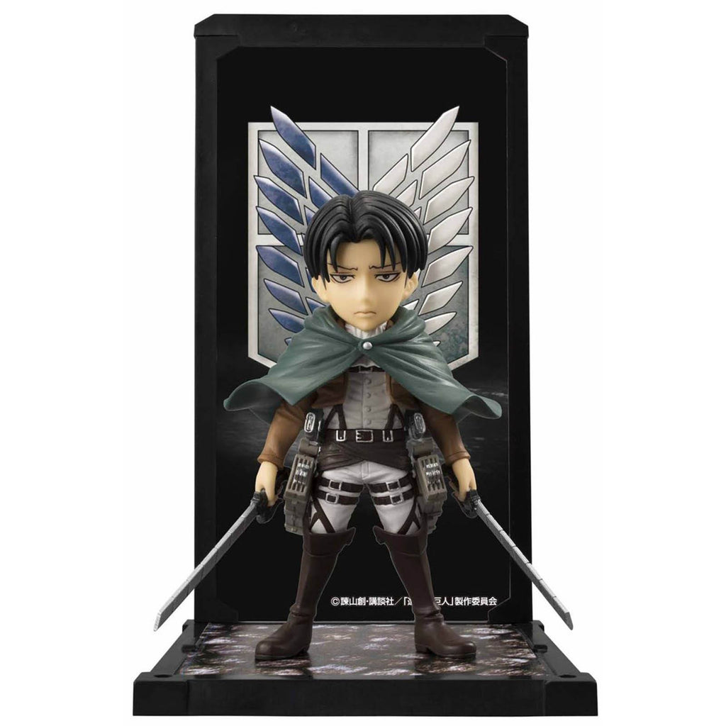 Bandai Attack On Titan Tamashii Buddies Levi Ackerman Figure - Radar Toys