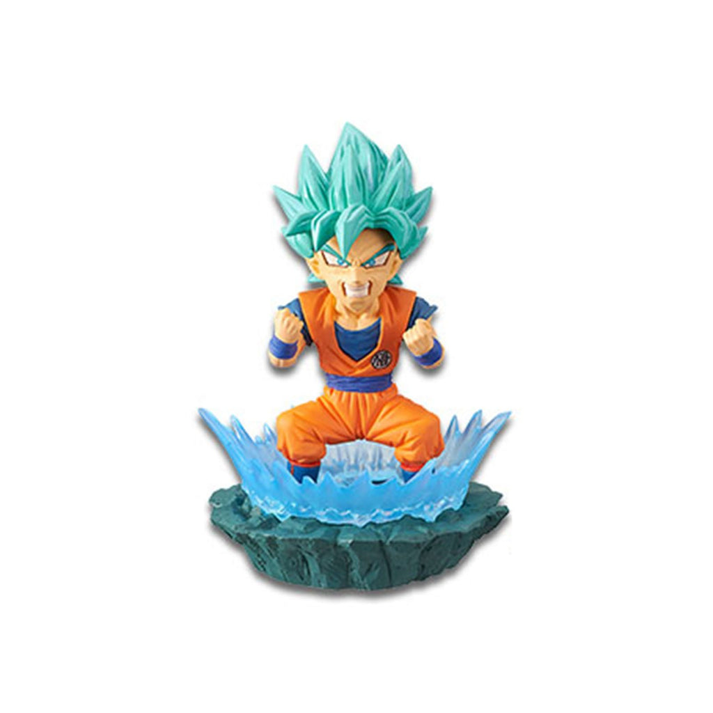Banpresto Dragon Ball Super World Collectible Diorama Vol 1 SSG Goku Figure