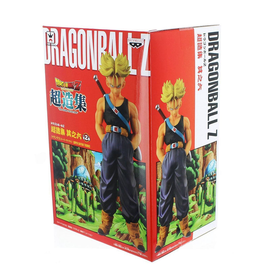 Banpresto Dragon Ball Z Chozousyu Collection Volume 6 SS Trunks Figure