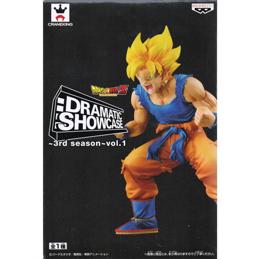 Banpresto Dragon Ball Z Dramatic Showcase 3rd Season Vol 1 SS Goku Figure