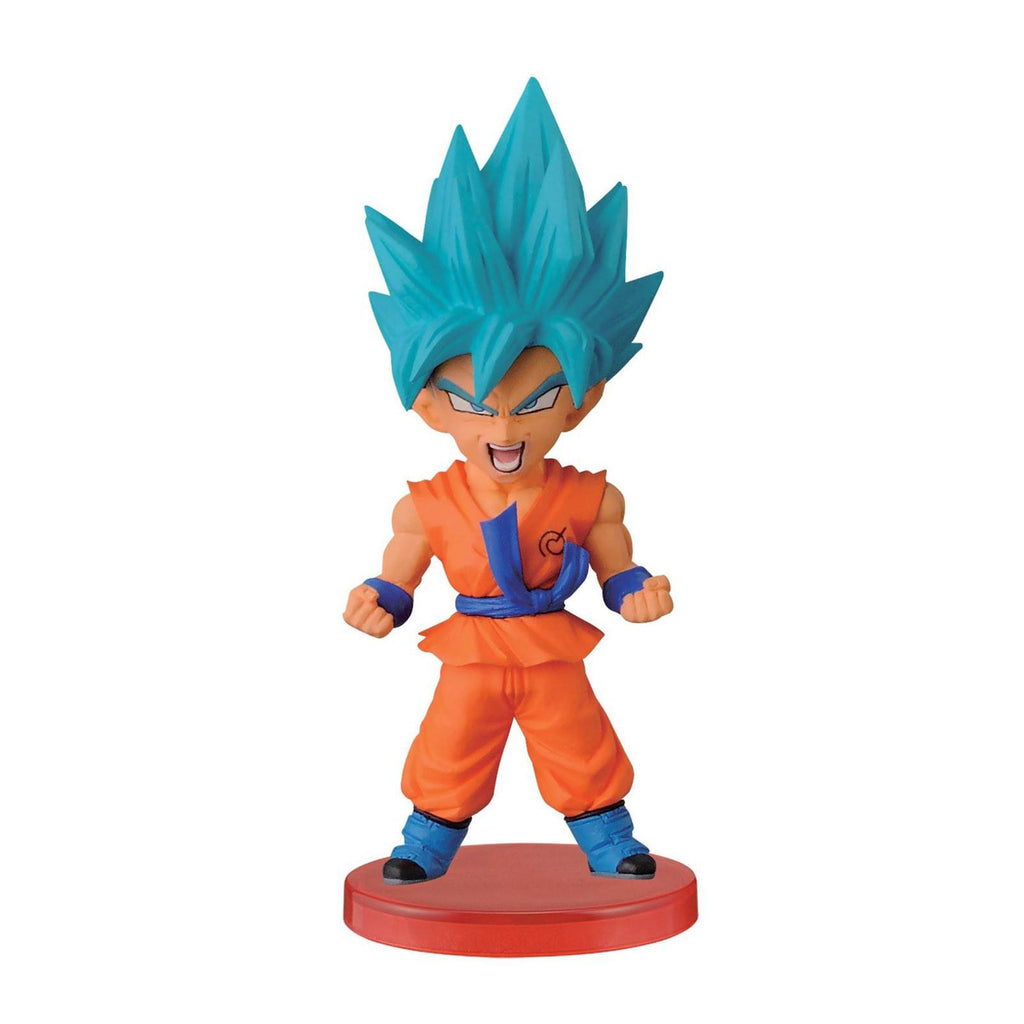 Banpresto Dragon Ball Z Super World Collectible Warriors God Goku Figure