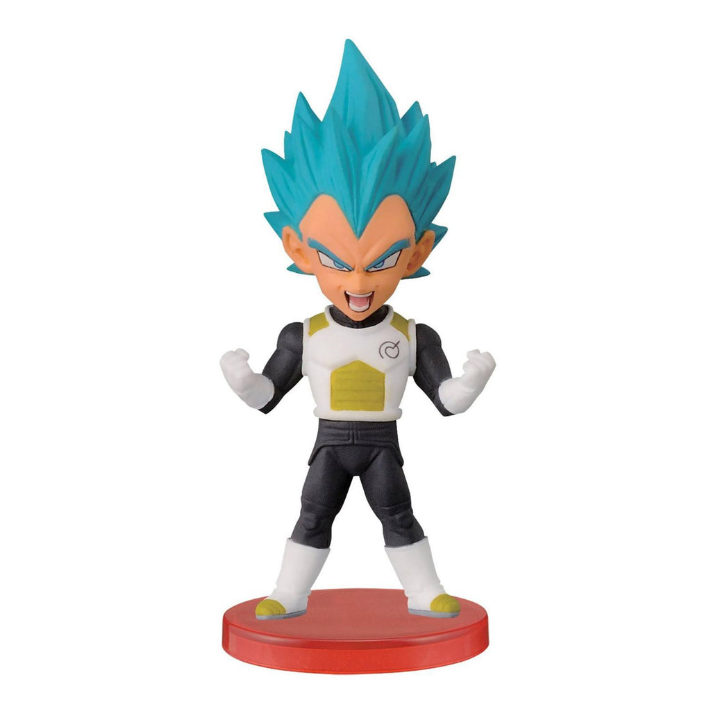 Banpresto Dragon Ball Z Super World Collectible Warriors God Vegeta Figure