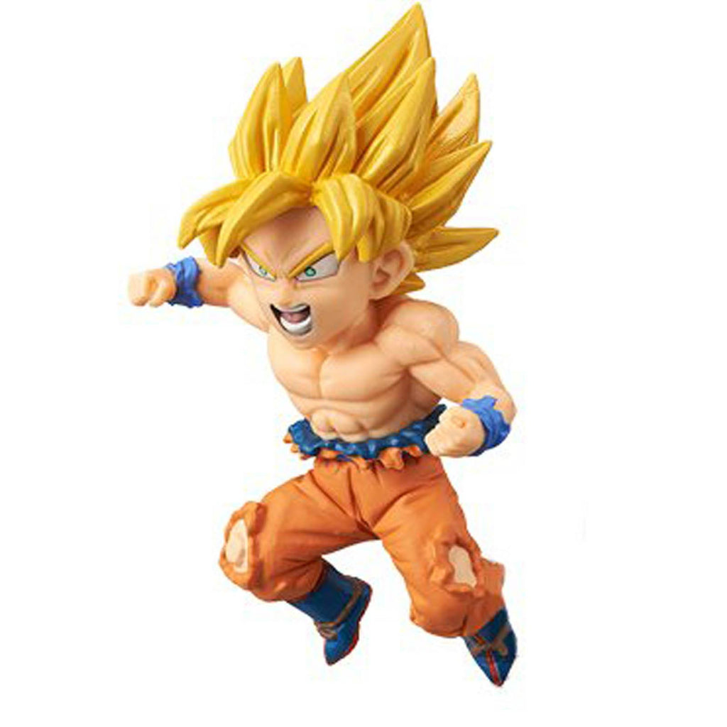 Banpresto Dragon Ball Z World Battle of Saiyans Vol 2 SS Goku Figure - Radar Toys
