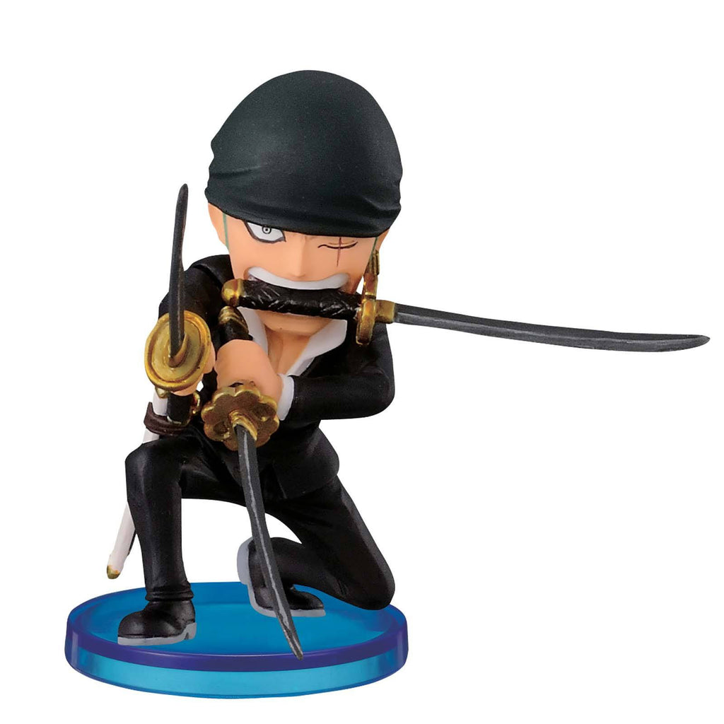 Banpresto One Piece World Collectible Roronoa Zoro Dressrosa Figure
