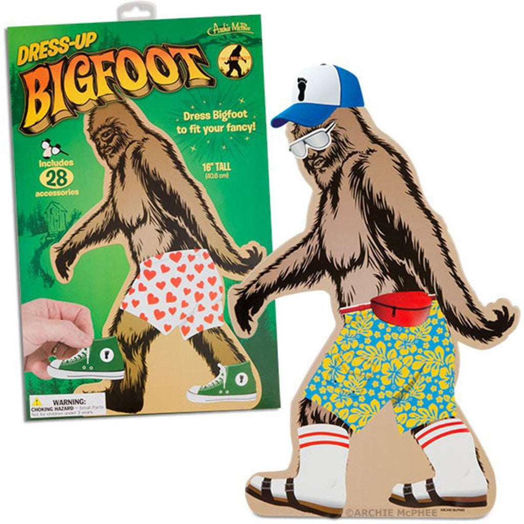 Big Foot Dress Up Figure - Radar Toys