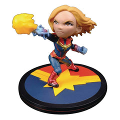 Action Figures - Captain Marvel Q Fig Captain Marvel Vinyl Figure