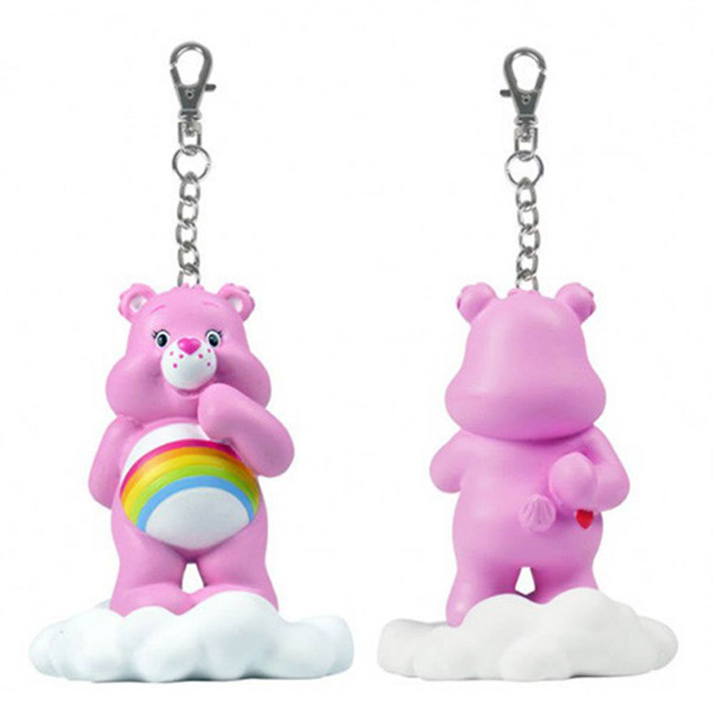 Care Bears Share a Bear Series 2 Pink Cheer Bear on Cloud Keychain - Radar Toys