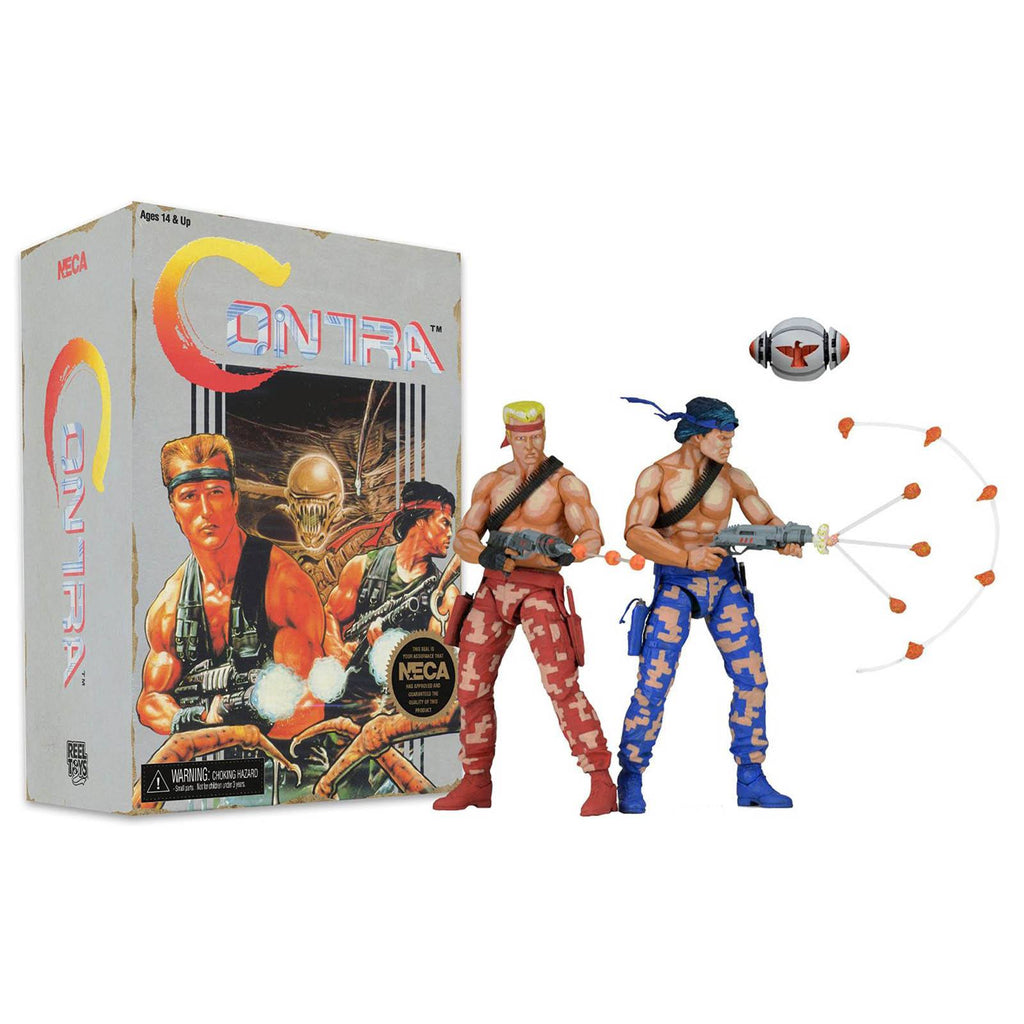 Contra Video Game Appearance 2 Pack Action Figures
