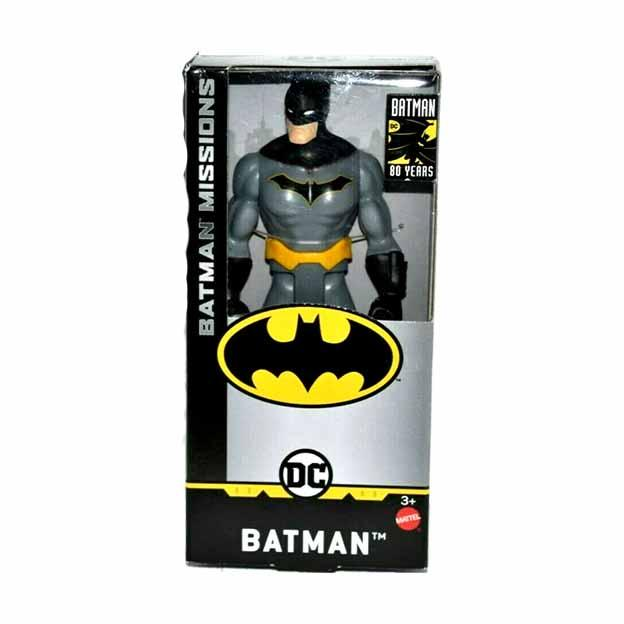 DC Batman Missions Batman 6 Inch Action Figure