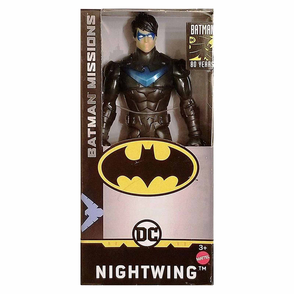 DC Batman Missions Nightwing 6 Inch Action Figure