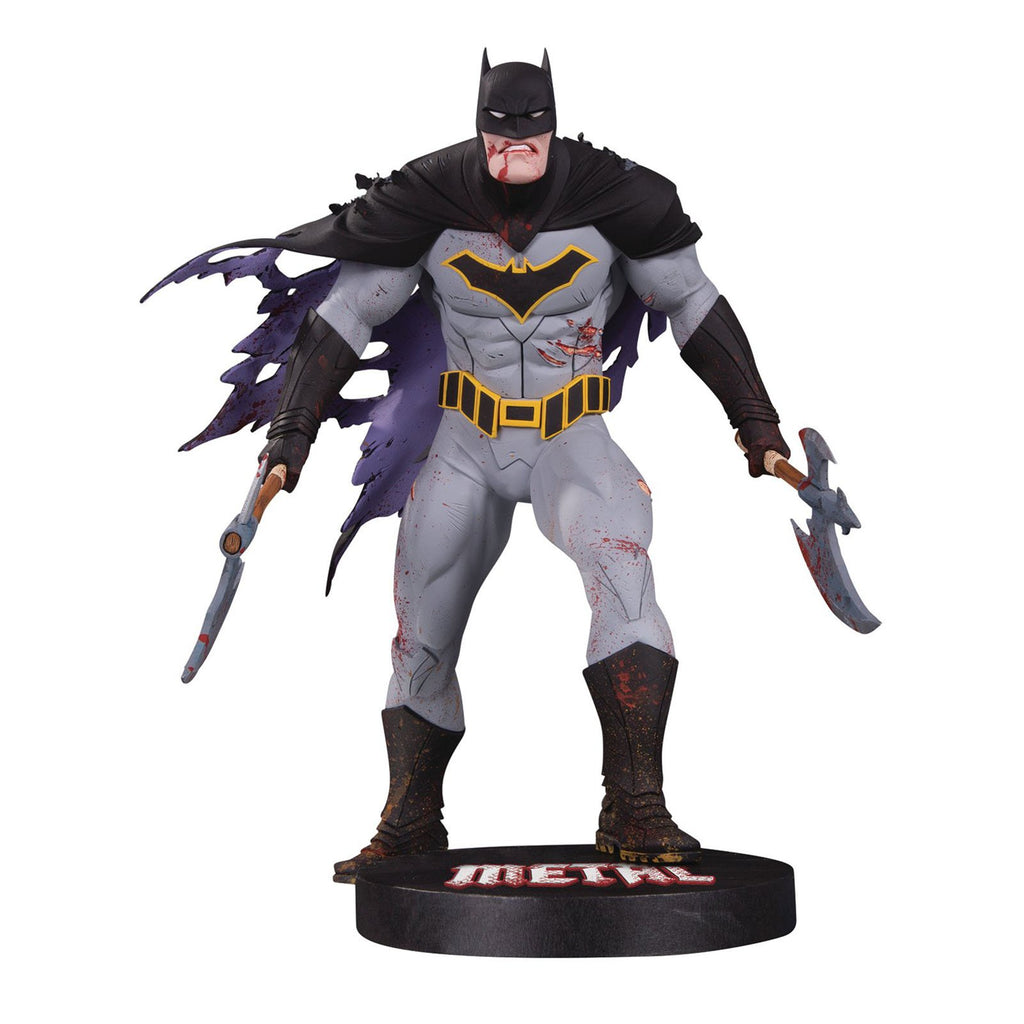 Action Figures - DC Collectibles DC Designer Series Metal Batman Capullo Statue