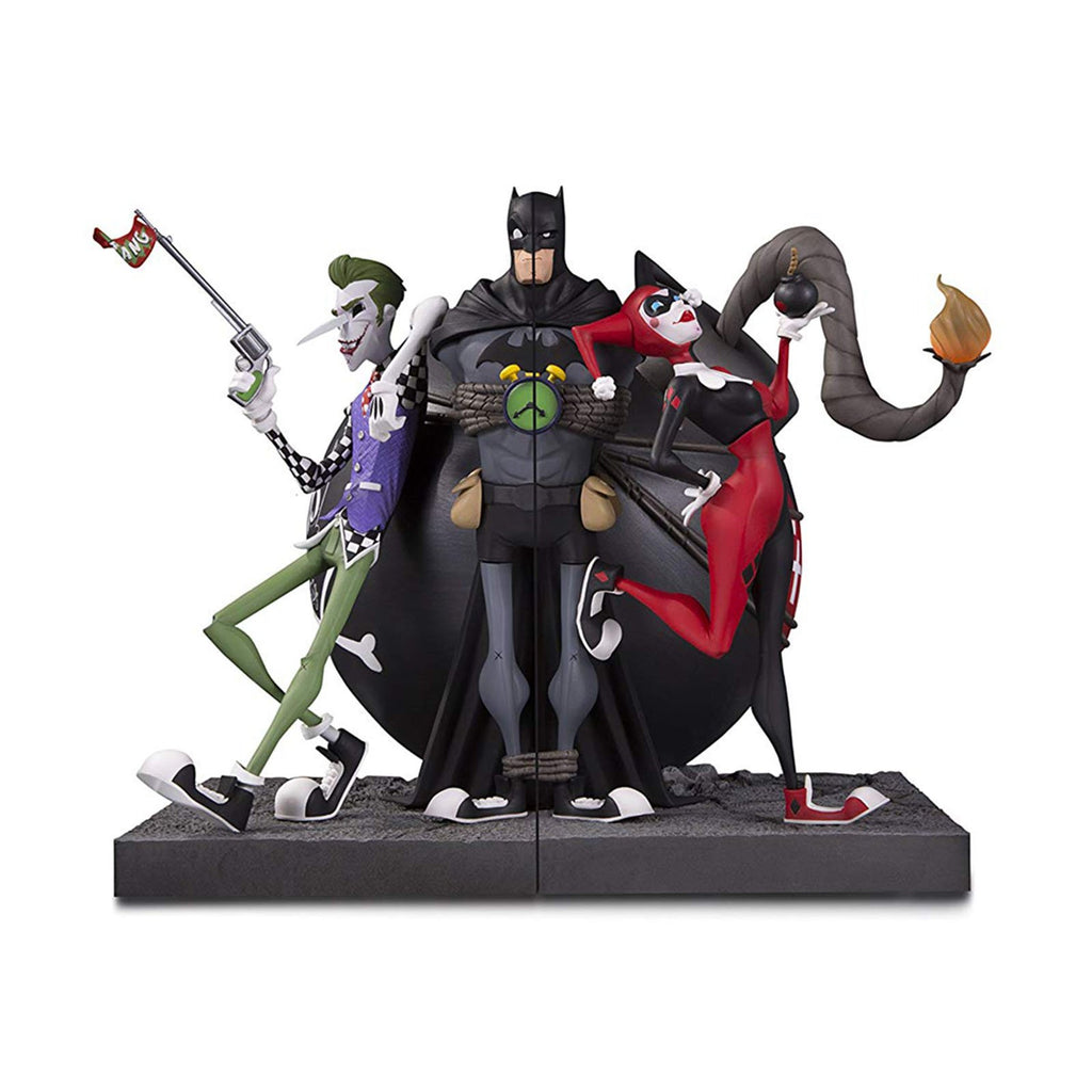 DC Collectibles The Joker And Harley Quinn Bookend Set