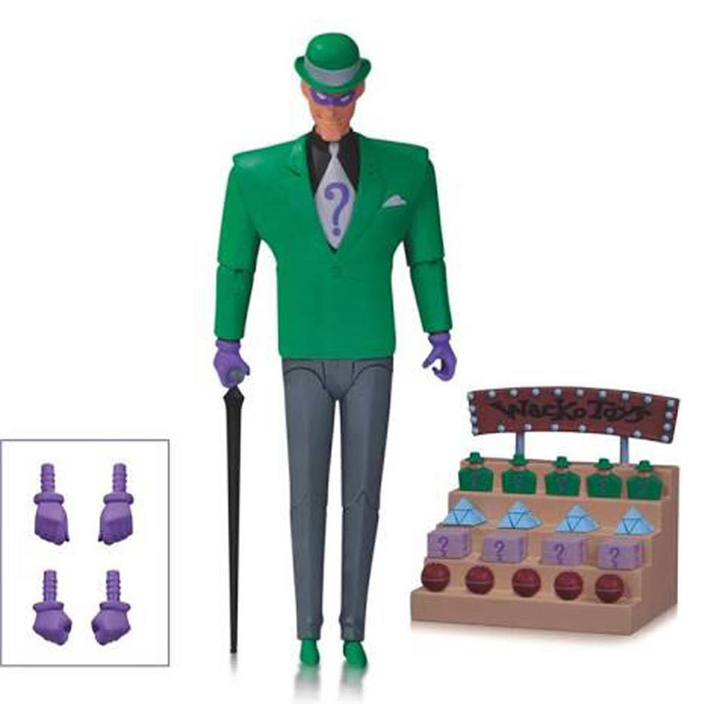 DC Comics Batman Animated Series Riddler Action Figure