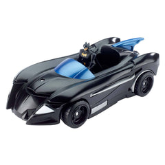Action Figures - DC Comics Justice League Mighty Minis Batmobile And Batjet Vehicle
