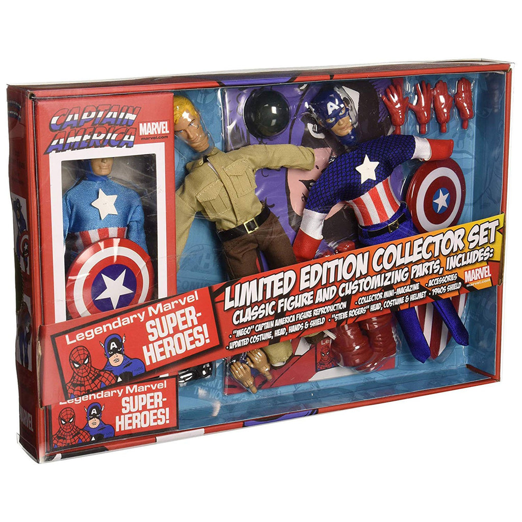 Action Figures - Diamond Select Captain America Limited Edition Collector Set
