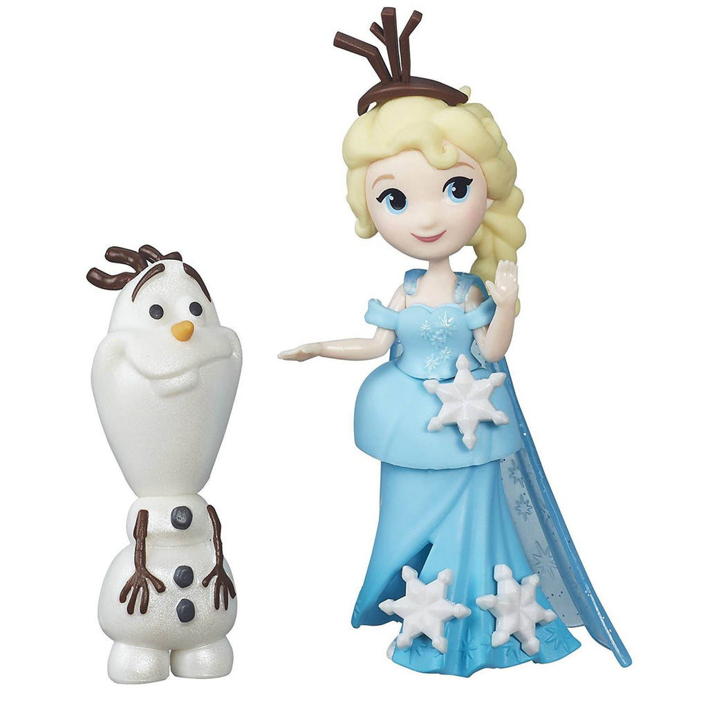 Disney Frozen Little Kingdom Elsa And Olaf Mini Figures