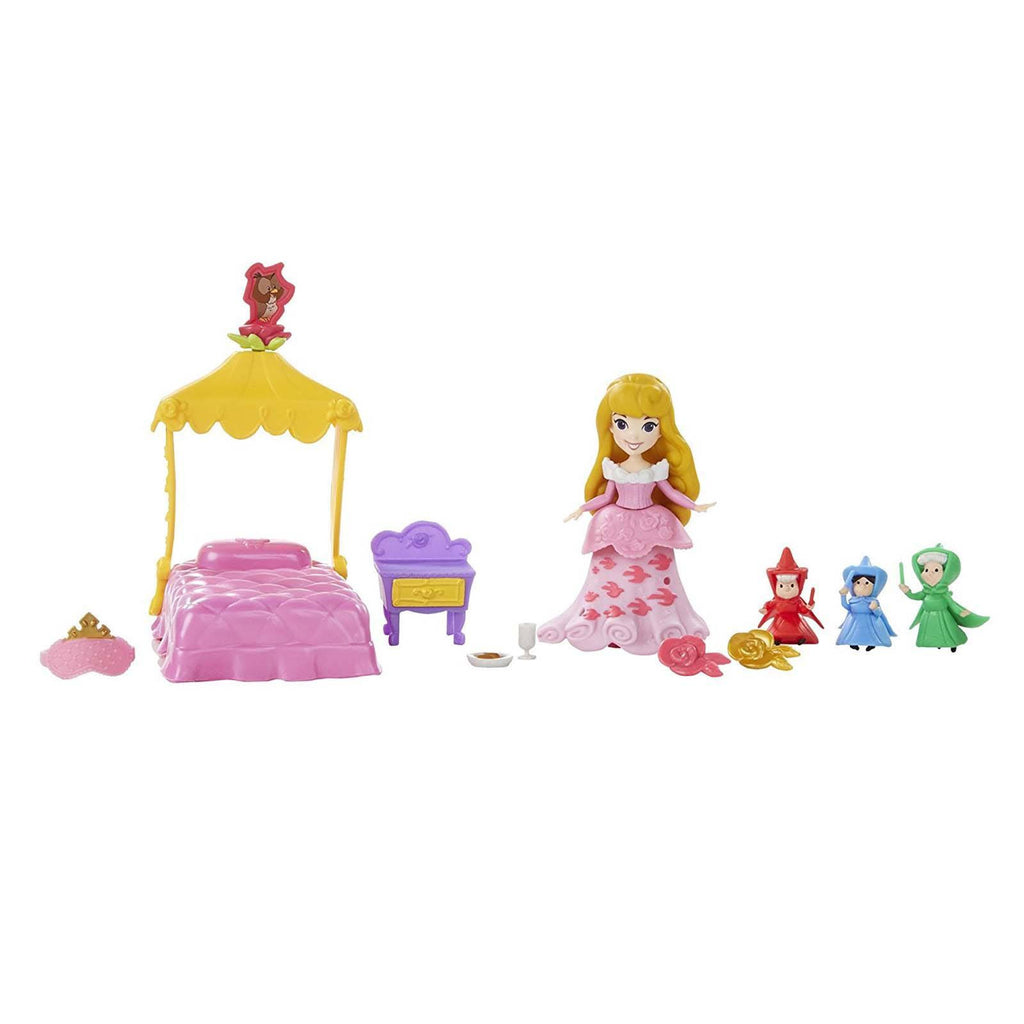 Action Figures - Disney Little Kingdom Aurora's Fairytale Dreams Mini Figures