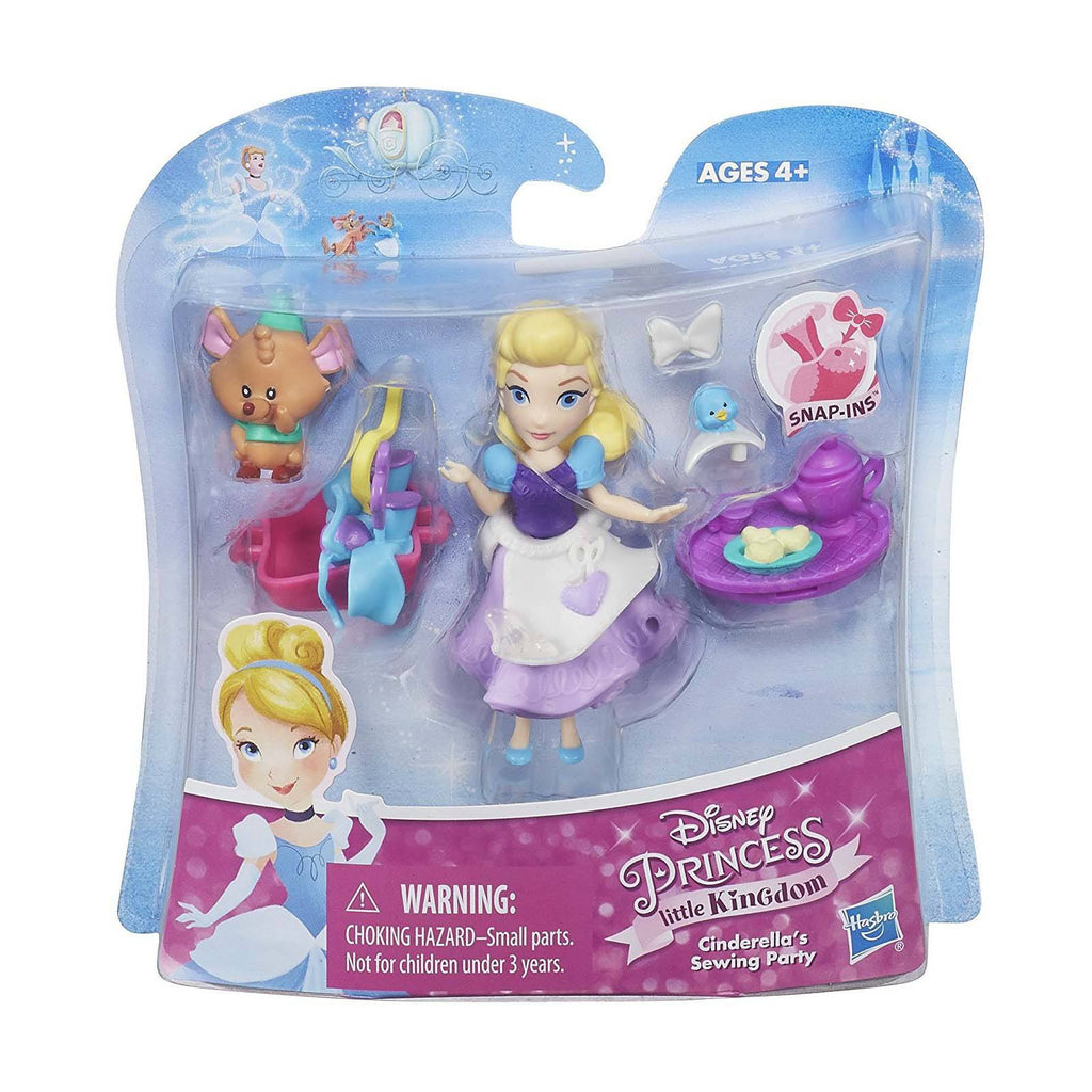 Disney Little Kingdom Cinderella's Sewing Party Mini Figures