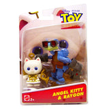 Action Figures - Disney Toy Story Angel Kitty And Raygon Action Figures
