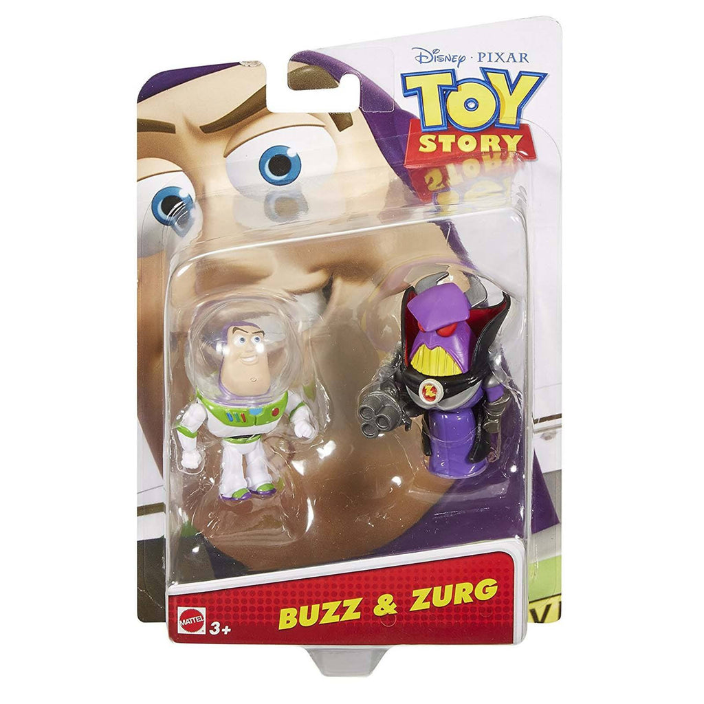 Disney Toy Story Buzz And Zurg 2.5 Inch Action Figure