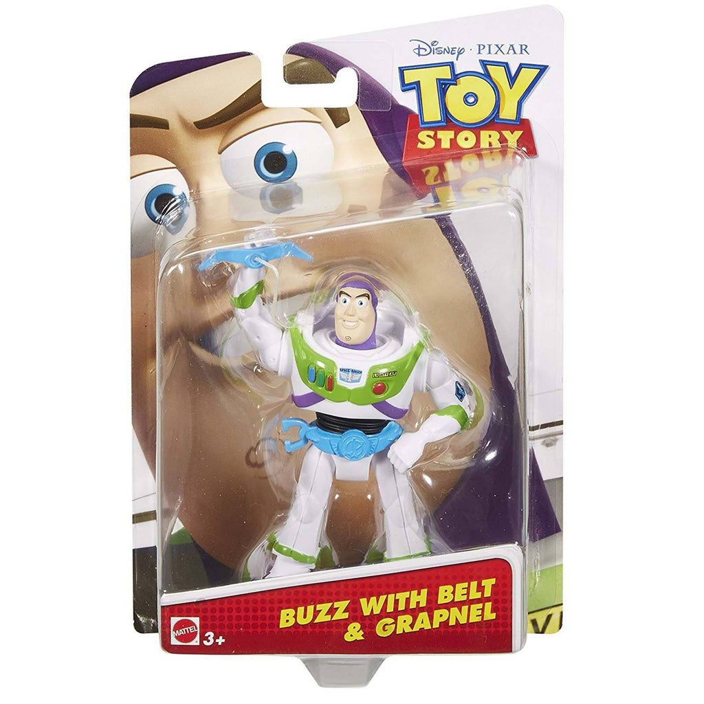 Disney Toy Story Buzz With Belt And Grapnel 4 Inch Action Figure