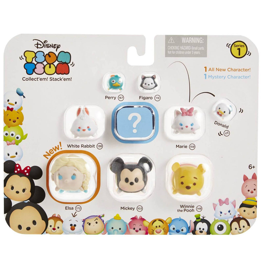 Disney Tsum Tsum Series 1 Style 1 Figures 9 Pack