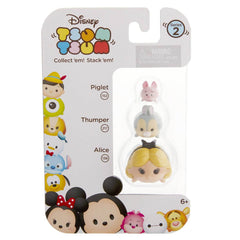 Disney Tsum Tsum Series 2 Piglet Thumper Alice Figures 3 Pack - Radar Toys
